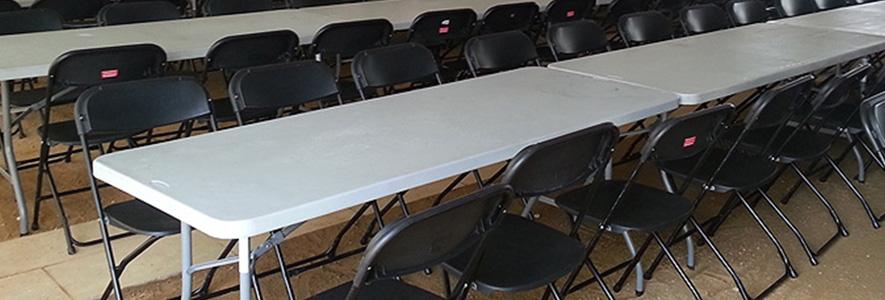 alquiler montaje alquiler de mesas y sillas para